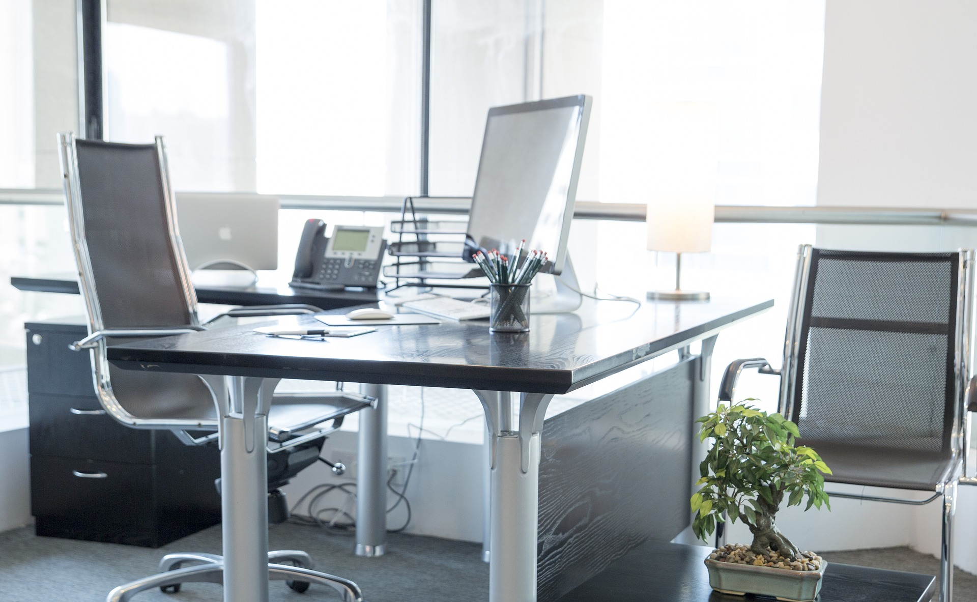 Vhodná kancelář je základ