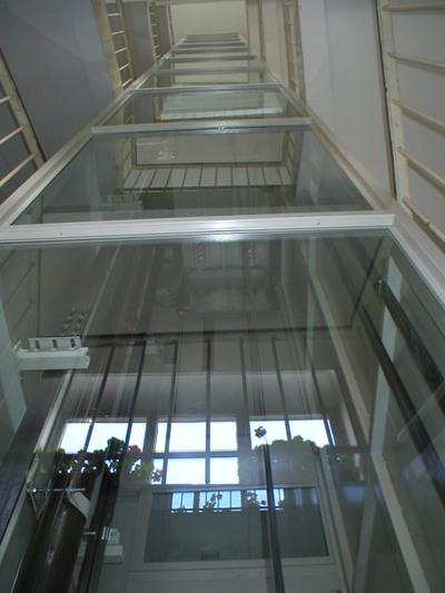 Výtahy nás mohou vyvézt až do 1 kilometru