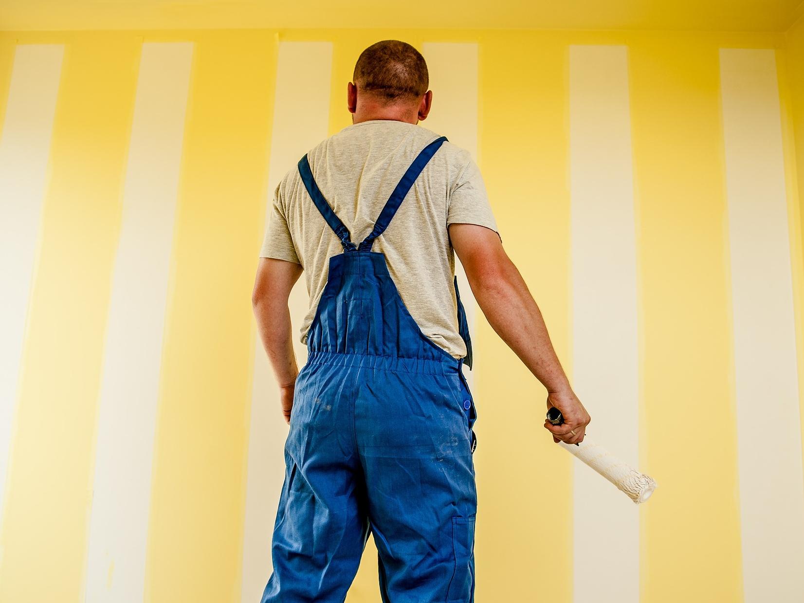 Malování se dá vyhnout díky tapetám