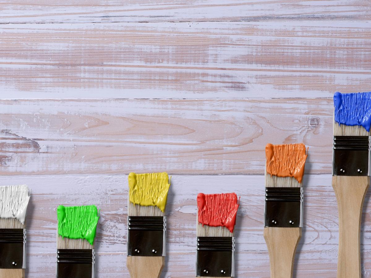 Nástrahy při malování pokoje
