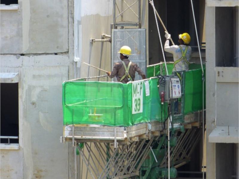 Stavební materiál až do nejvyššího patra