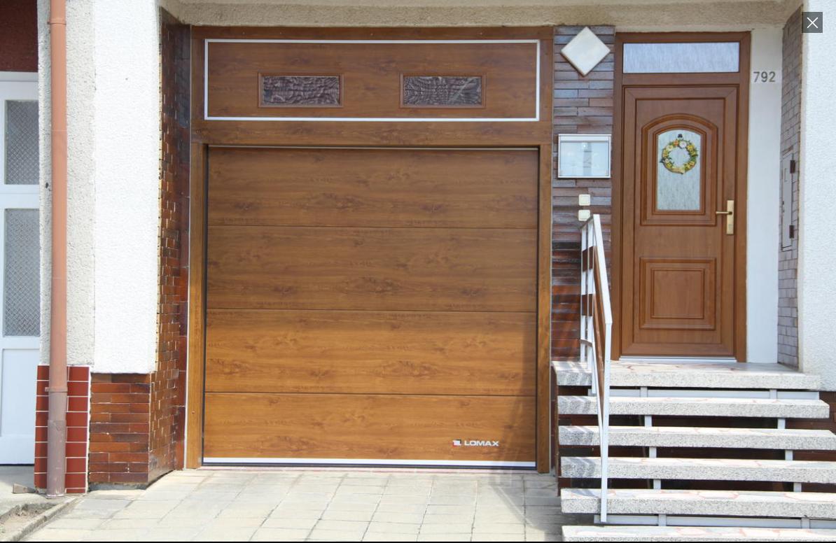 Garážová vrata musí vaší garáži sedět