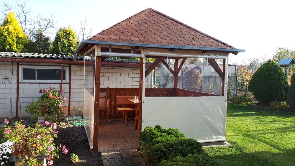 Pohodlí zahradní pergoly za každého počasí